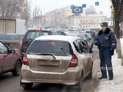 Гаишники вновь вышли ловить нарушителей правил парковки
