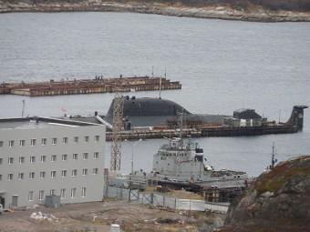 СМИ узнали о новом пожаре на атомной подлодке Северного флота