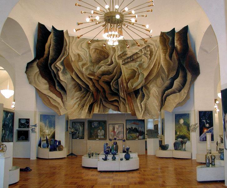 В Гагаринском музее после ремонта открылась художественная галерея