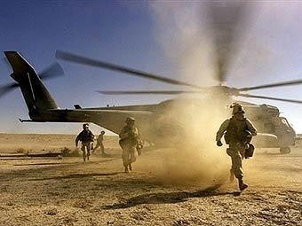 При крушении вертолета НАТО в Афганистане погибли шесть человек
