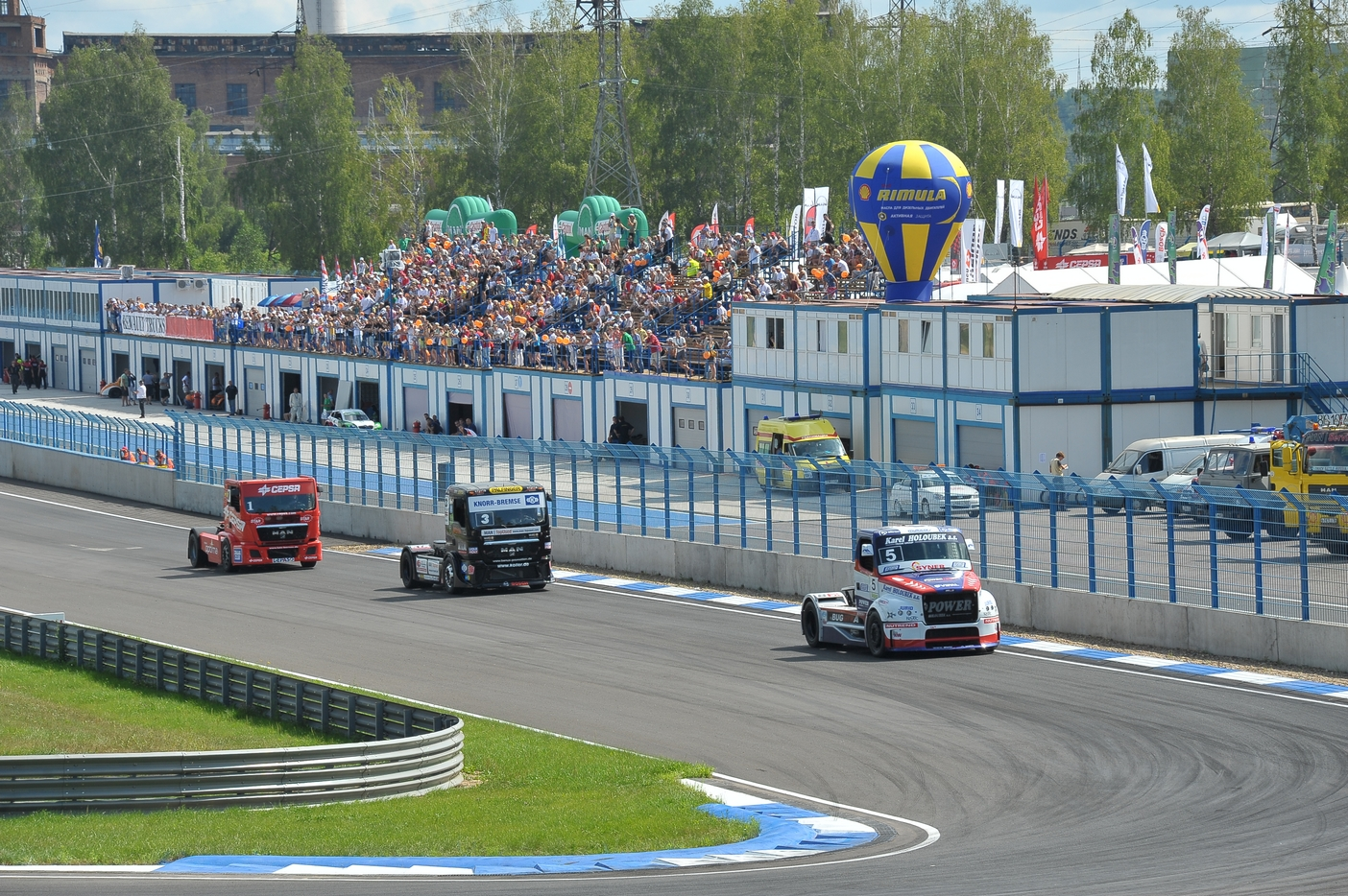 Первый этап Чемпионата и Кубка России по кольцевым автогонкам пройдет на «Смоленском кольце»