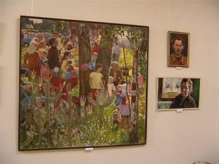 В Смоленске открылась выставка работ живописца Петра Ионова