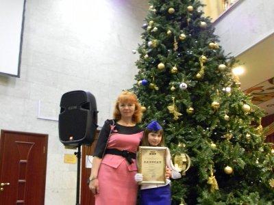Юная рославльская вокалистка заняла второе место на фестивале в Останкино