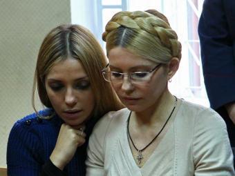 К Тимошенко в колонию не пустили дочь