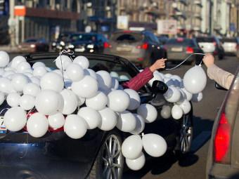 Полиция насчитала 300 участников автопробега за честные выборы