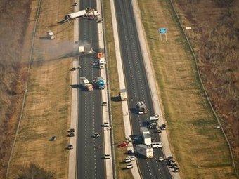 Десять человек погибли в крупном ДТП во Флориде