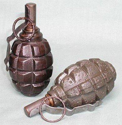 На Заднепровском рынке нашли гранату времен Великой Отечественной войны