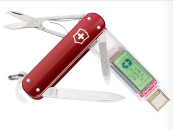 В швейцарский нож встроили терабайт памяти