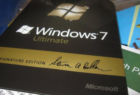 Microsoft не ожидает спада продаж Windows 7 перед выходом Windows 8