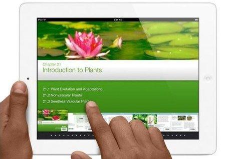 Пользователи скачали более 350 тыс учебников для iPad за первые 3 дня