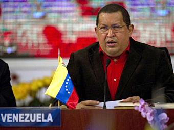 Чавес пообещал встать на сторону Аргентины в войне за Фолкленды