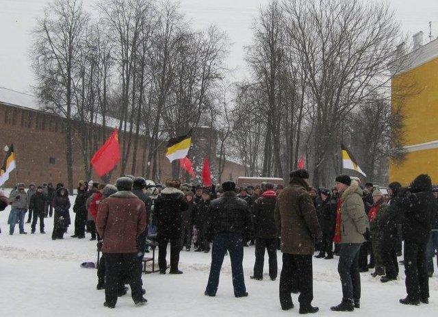 В Смоленске прошел митинг «За честные выборы»