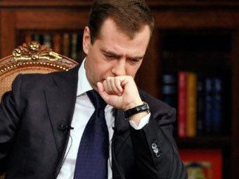Медведев назначил встречу лидерам незарегистрированных партий