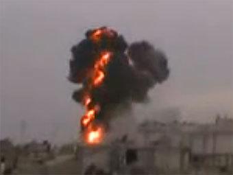 Сирийская армия возобновила артобстрел Хомса
