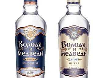 Роспатент разрешил зарегистрировать алкогольный бренд «Володя и медведи»