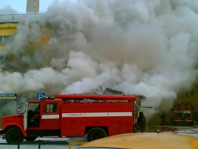 В Гедеоновке сгорел магазин