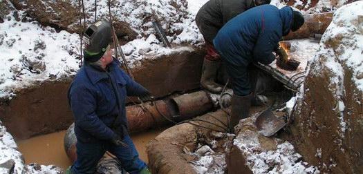 Крупная авария на трубопроводе Смоленска