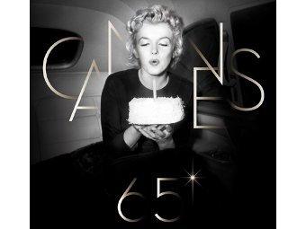 Мэрилин Монро стала символом 65-го кинофестиваля в Каннах