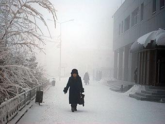 В России от переохлаждения погибли 64 человека