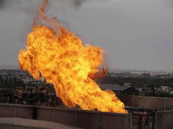 В Египте вновь взорван ведущий в Израиль газопровод