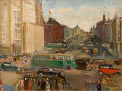 В Русском музее на выставке нашего земляка покажут картину из смоленской галереи