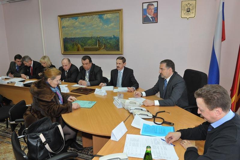Михаил Курков провел прием граждан по личным вопросам