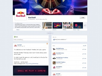Facebook введет «Хроники» для страниц компаний и брендов