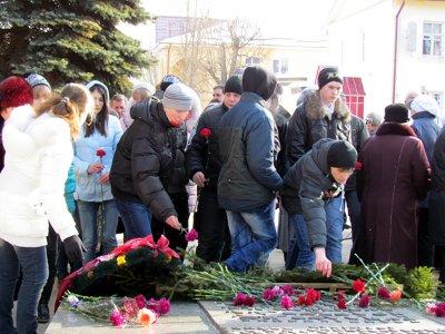 В Гагарине отметили годовщину освобождения города от фашистов