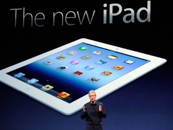 Представлено новое поколение планшетов iPad