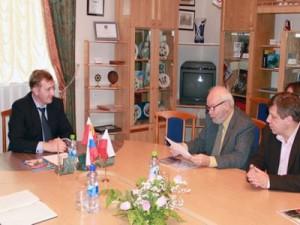 Поляки прибыли в Смоленск для подписания договора о дружбе и сотрудничестве