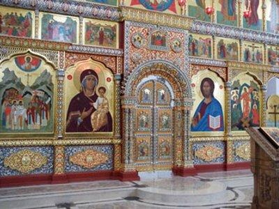 В строящемся храме появится икона Катынских страстотерпцев