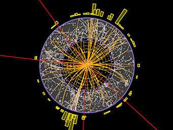 По Большому адронному коллайдеру прошли первые в 2012 году пучки