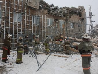 В Челябинске обрушилось офисное здание