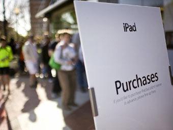 Первым владельцем iPad третьего поколения стал австралиец Тарасенко