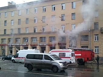 В петербургском ресторане произошел взрыв