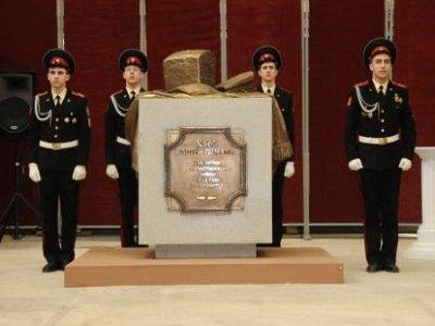 В Десногорске установят памятный знак в виде бородинского хлеба
