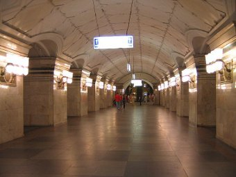 Трое полицейских пострадали в драке болельщиков в метро