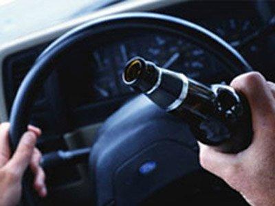 Четверть нетрезвых шоферов уже лишалась водительских прав за пьяную езду