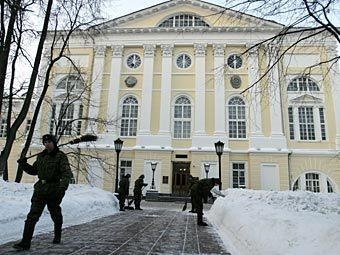 Госпиталь Бурденко эвакуируют из-за угрозы взрыва