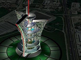 Власти Венеции одобрили строительство «Дворца света» Пьера Кардена