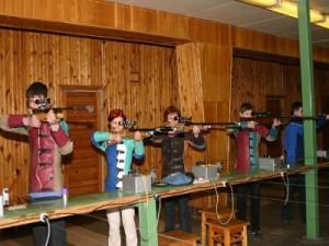 Впервые после ремонта тира состоялись городские соревнования по пулевой стрельбе