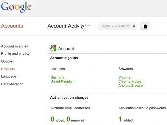Google покажет пользователям личную статистику
