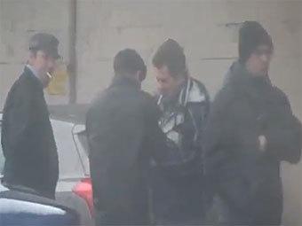 В интернет выложили видеозапись «карусели» в Москве