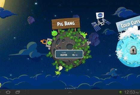 Пользователи скачали Angry Birds Space более 10 млн раз за три дня