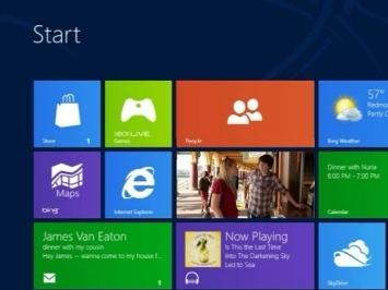 Планшеты и компьютеры на Windows 8 появятся осенью