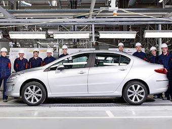 В России началась сборка бюджетного седана Peugeot