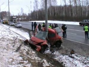 В результате серьезной аварии на трассе Москва-Минск погибли два человека