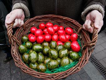 В ЕС перед Пасхой резко подорожали яйца