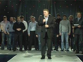 Смоленский ХК «Славутич» поздравили с достигнутыми результатами