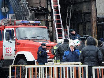 Число погибших на рынке в Москве возросло до 17